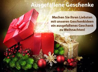 Ausgefallene Geschenke zu Weihnachten