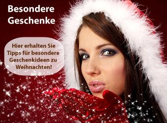 besondere Geschenke und Geschenkideen zu Weihnachten