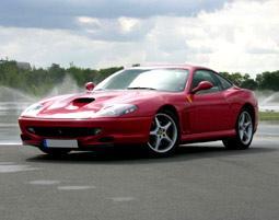 Ferrari fahren - Geschenktipp fuer Vater zu Weihnachten