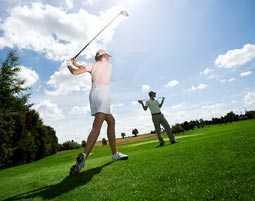 Golfkurs als Weihnachtsgeschenk