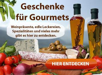 Weihnachtsgeschenke Gourmets und Feinschmecker