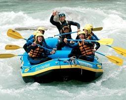 Rafting-Tour als originelles Geschenk zu Weihnachten