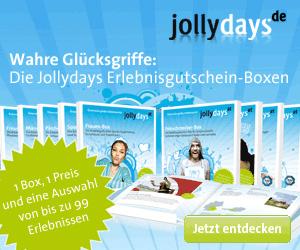 Weihnachtsgeschenke als Geschenkbox beim Erlebnisportal Jollydays