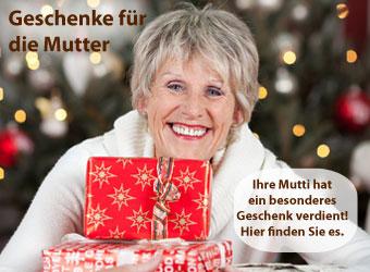 Geschenkideen zu Weihnachten fuer die Mama, Mutti, Mutter